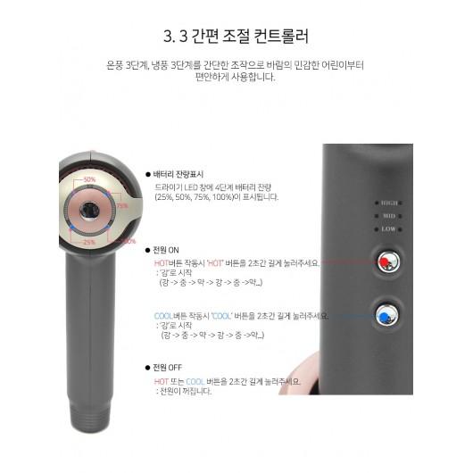 SS Shiny MAX POWER SONIC Wireless Hair Dryer