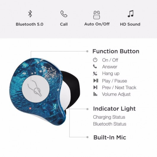 Sabbat X12 Pro真無線藍牙5.0耳機 (多款顏色選擇)